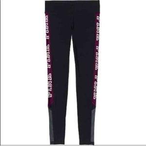 Vs pink maroon logo ultimate leggings